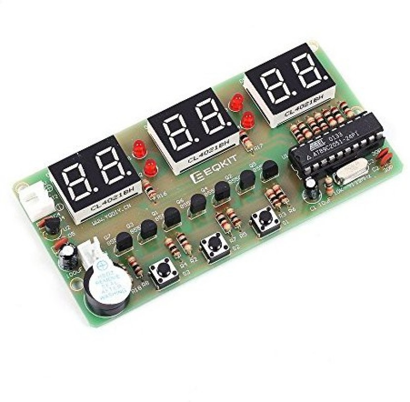 Requires Assembly 3-Digit LED Counter Timer Kit