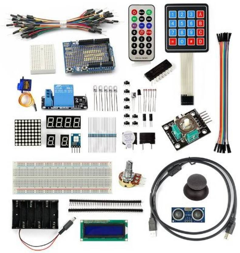 SainSmart Project Starter Kit For Arduino Uno R3 Mega2560