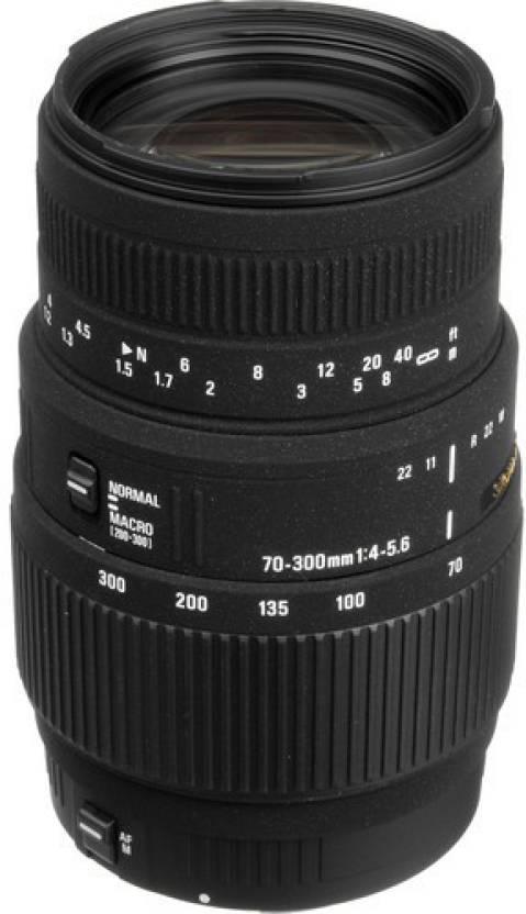 Sigma 70 - 300 mm F4-5 6 DG Macro Lens