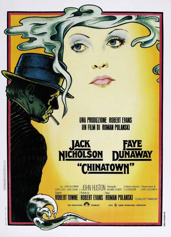 Chinatown Vintage Movie Poster Paper Print - Movies posters