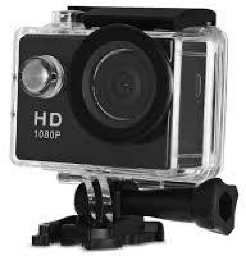 Piqancy 1080P spoort action camera Universal With HD 1080PSports Action  Camera Waterproof Camera Multiple Photo Shooting Modes Vehicle-Mounted