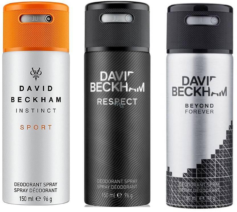 David Beckham Instinct Sport Respect And Beyond Forever Deodorant