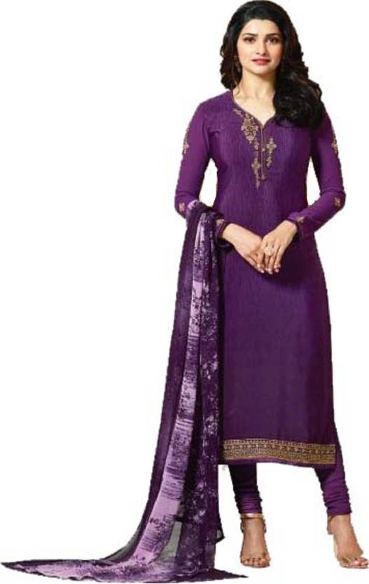 abe30eaf69 D.S.FABRICS Crepe Embroidered Semi-stitched Salwar Suit Dupatta Material  Price in India - Buy D.S.FABRICS Crepe Embroidered Semi-stitched Salwar Suit  ...