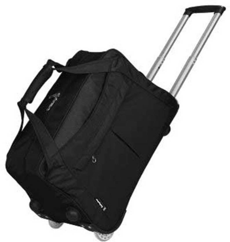 ff3b79291e32 Di Grazia Oxford 17 Inch Luggage Trolley(2 Wheels)Travel Cabin Boarding  Tote