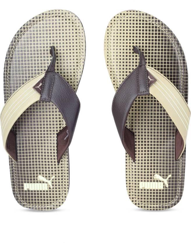 07aadfc96d6 Puma Ketava GU IDP Slippers - Buy Chocolate Brown-Pale Khaki Color Puma  Ketava GU IDP Slippers Online at Best Price - Shop Online for Footwears in  India ...