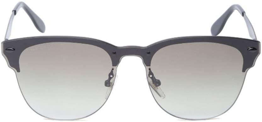 96994f521d85 Buy Fastrack Clubmaster Sunglasses Green For Men Online   Best ...