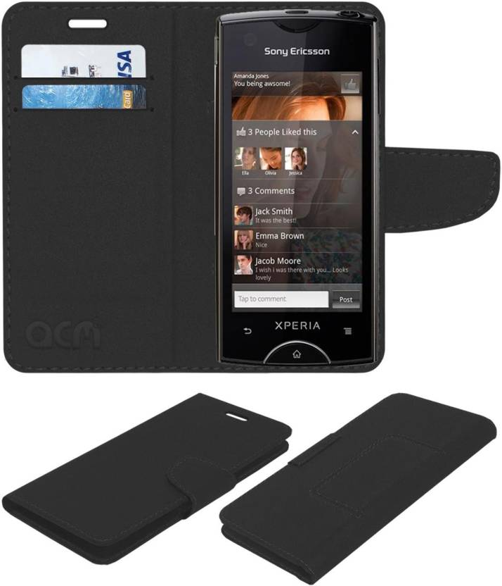 big sale b1726 ff51e ACM Wallet Case Cover for Sony Ericsson Xperia Ray St18i - ACM ...