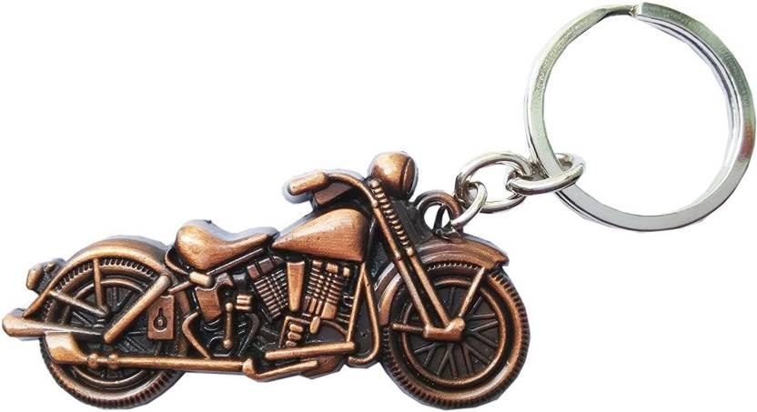 GCT Royal Enfield Motorcycles Bullet Bike RE Copper Metal (Design-2)  Keyring for Men Women Boys Girls Car Bike Key Chain Price in India - Buy  GCT Royal ... a5c26c8945