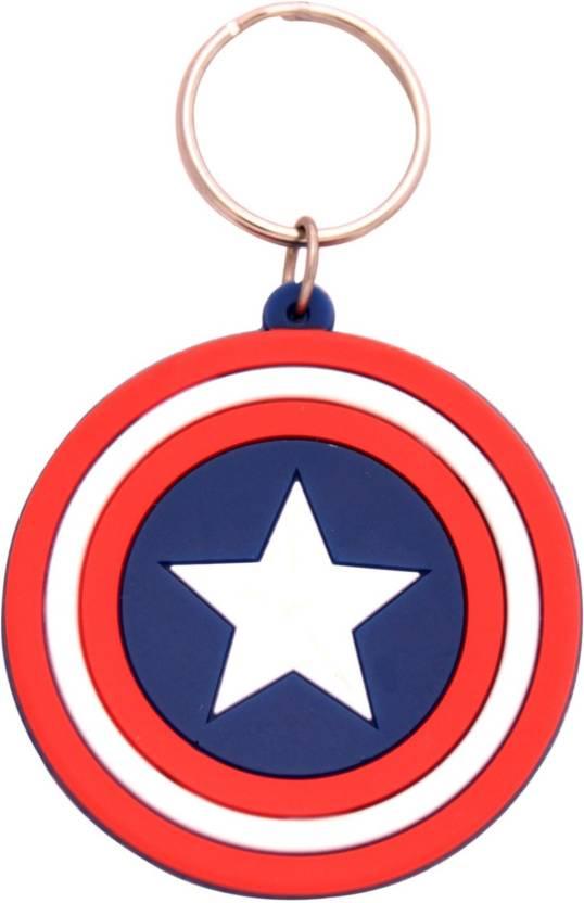 GCT Double Sided Captain America Shield Marvel Avengers Civil War Superhero  Collectible Rubber (Design- d306143c4b