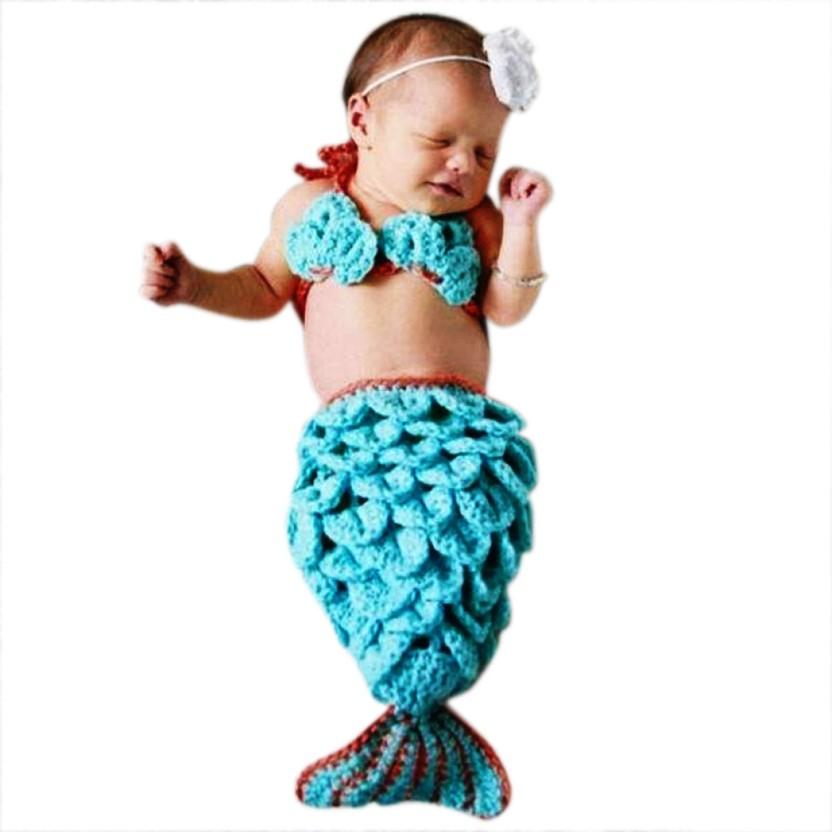 Babymoon (SET of 3) Mermaid Designer Costume- Baby Photography Props - Best Baby  sc 1 st  Flipkart & Babymoon (SET of 3) Mermaid Designer Costume- Baby Photography Props ...