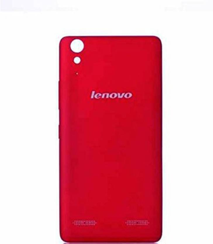 huge discount 05131 a7cda SAMTEK Replacement Battery Door Cover Panel For Lenovo A6000 / A6000 PLUS -  (Red) Back Panel