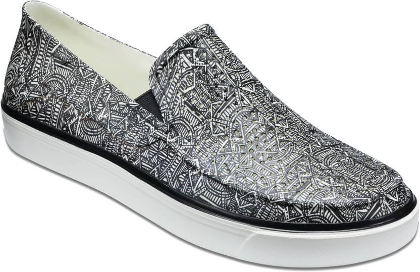 7a6b21d50d332 Crocs Crocs CitiLane Roka Graphic Slp M Slip On Sneakers For Men (Black