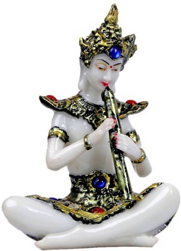 mantra art gallery Antique Artifacts marble base polyresin Buddha