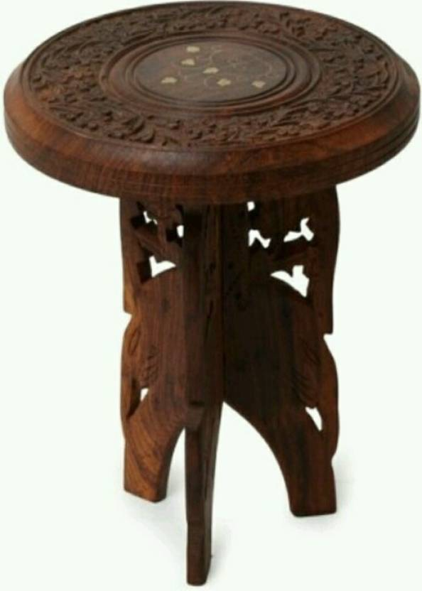 Amazing Khan Handicrafts Wooden Antique Stool Stool Price In India Caraccident5 Cool Chair Designs And Ideas Caraccident5Info