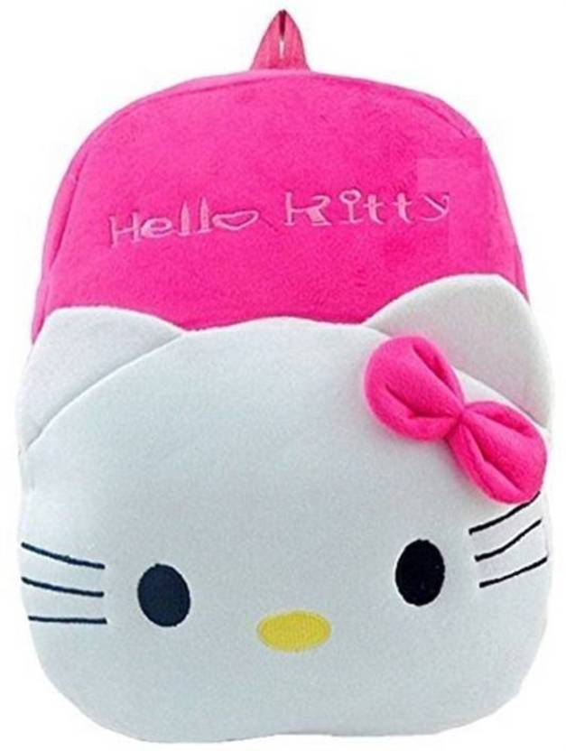 Kidoyzz Hello Kitty School Bag For Kids Soft Plush Backpack For Small Kids  Nursery Bag ( 8ffe60d5aa209
