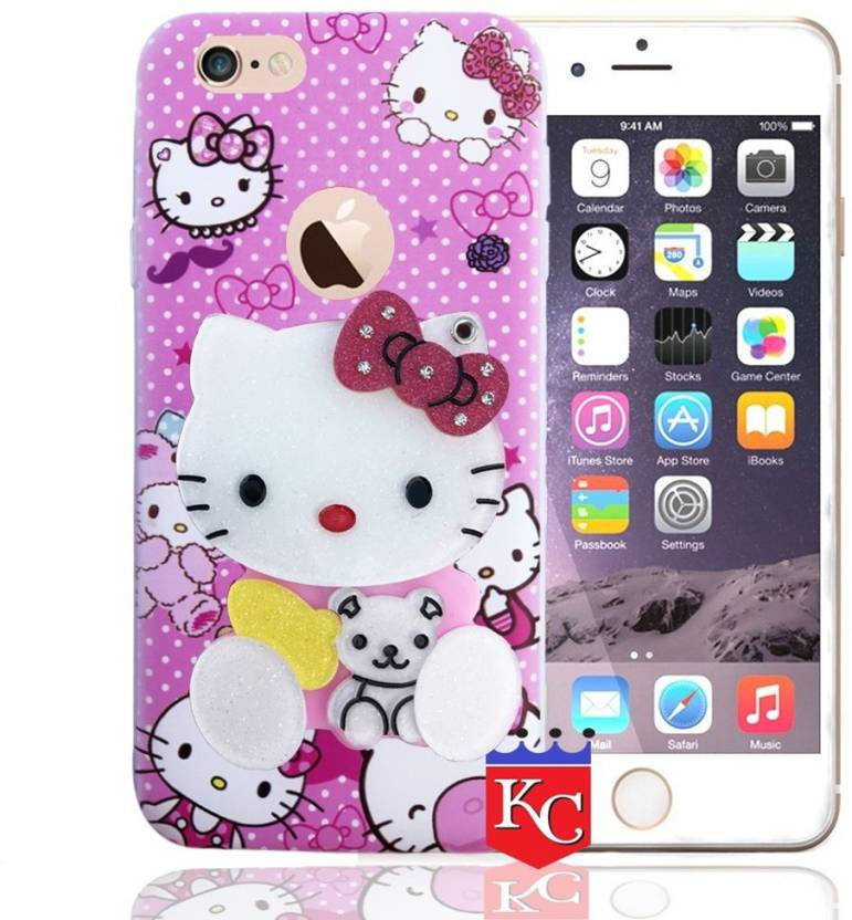 1fd8d361f3 KC Back Cover for Apple iPhone 6, Apple iPhone 6s (Pink, Shock Proof,  Flexible Case)