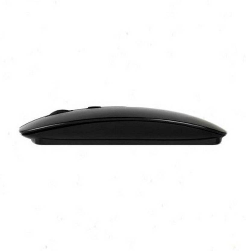 Lionix Stylish Slim 2.4 GHz Optical Wireless Mouse Mice with USB Receiver for Macbook Computer PC Laptop Wireless Optical Mouse (USB, Black) Wireless ...