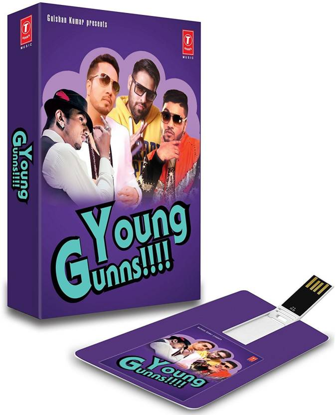 45e1bdccbc9c MUSIC CARD YOUNG GUNNS Pendrive Standard Edition Price in India ...