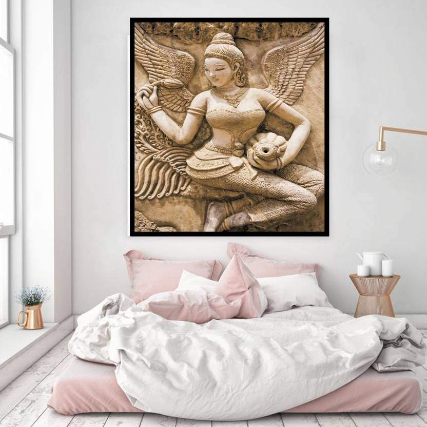 Pari Lady Size 2ft 4ft Wall Art Picture Canvas Painting Home