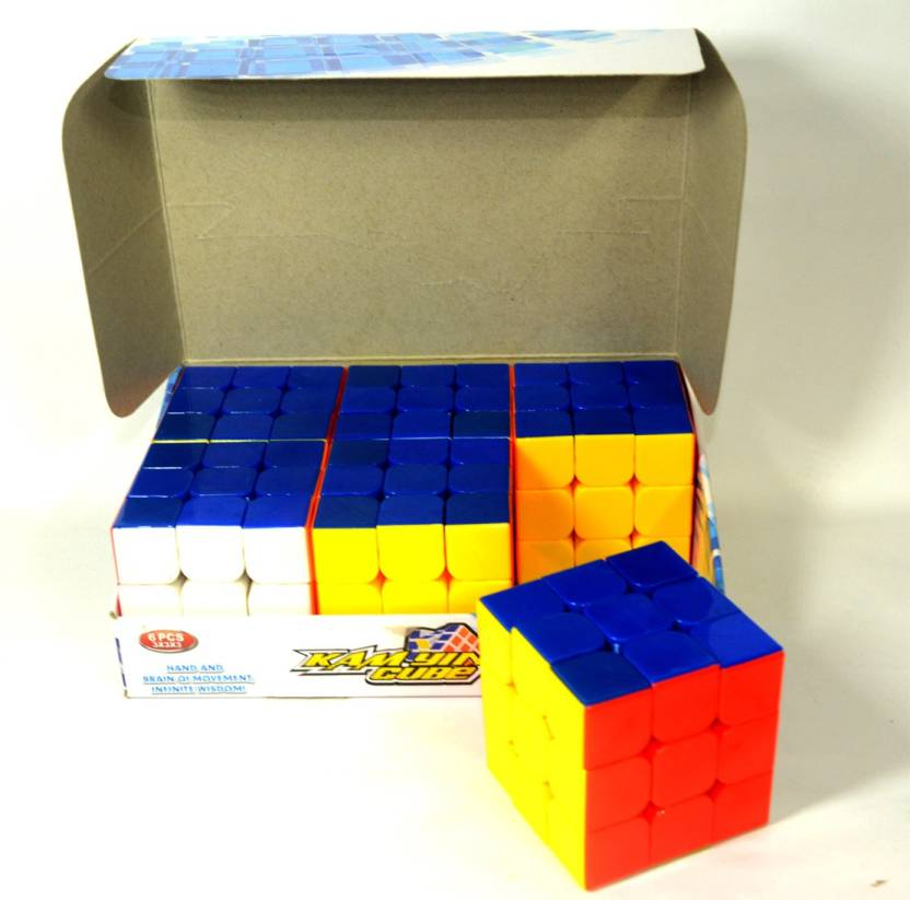 Sunny Color Cube Birthday Pack of 6 pieces - Color Cube