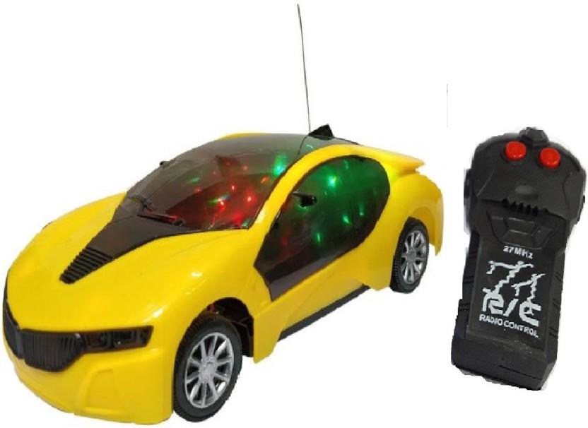 New Racing Car Toy 3D Lights