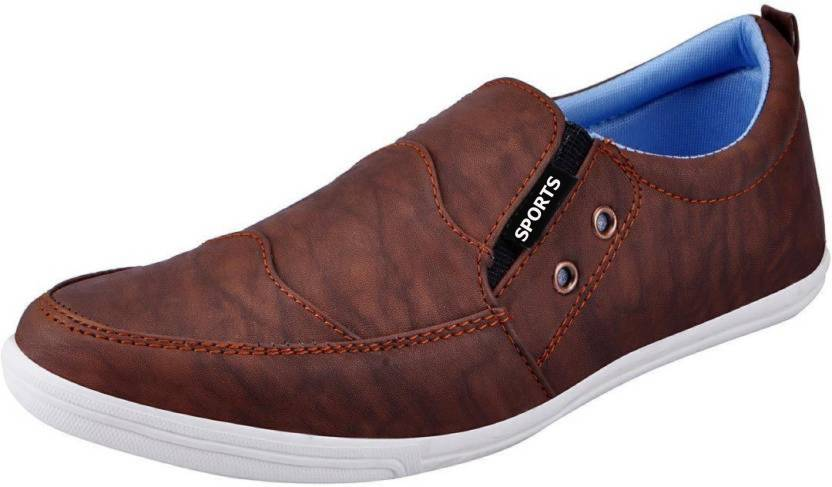 8cb0b41583b CoolSwagg Stylish For Men And Boys Loafer Shoes For Men  (Brown) Casuals For  Men (Brown)