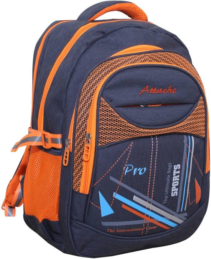 1d0a74ba766f Attache School Bag 30 L Backpack Multicolor - Price in India ...