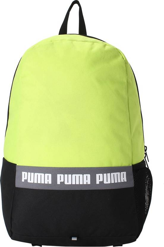 Puma Phase Backpack II IND 25 L Backpack Acid Lime - Price in India ... c4f8ab3bfd21d