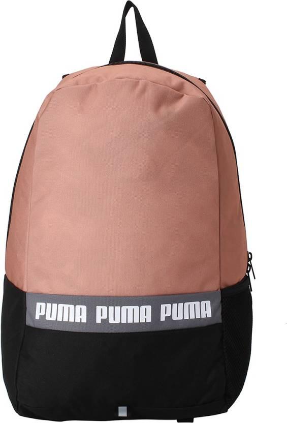 0a845ff4b69db Puma Phase Backpack II 25 L Backpack Peach Beige - Price in India ...