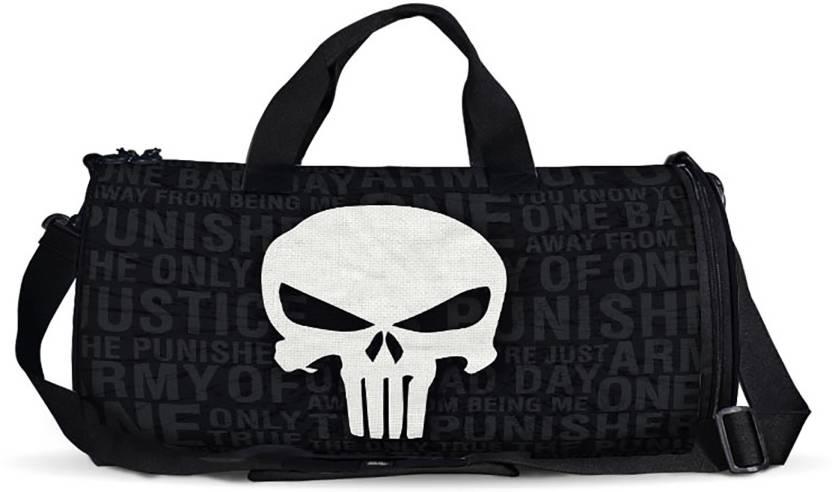 Punisher Skull Duffle Bag Travel Duffel