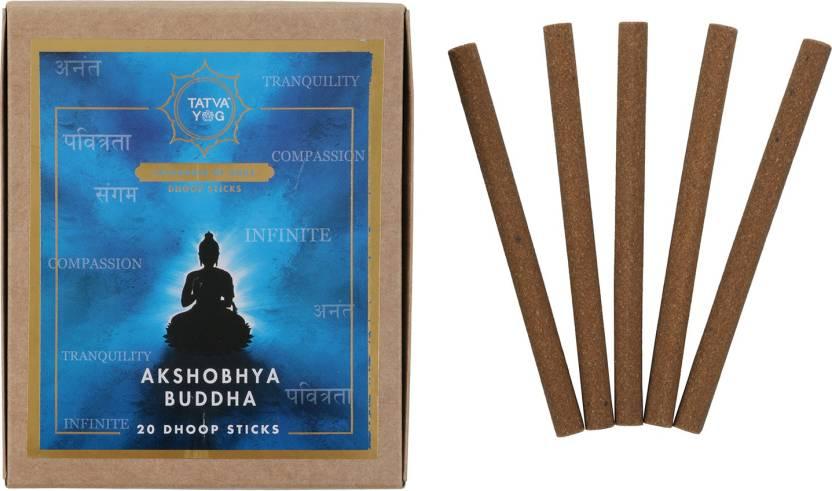 Tatva Yog Akshobhya Buddha Dhoop Sticks pack of 20 Floral