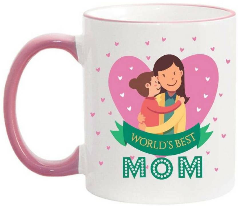 Giftsmate Birthday Gifts For Mother Worlds Best Mom Coffee Ceramic Mug