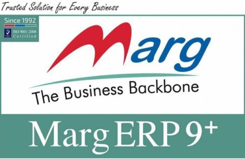 Marg Counter ERP 9 Silver Invoicing Inventory Accounting Software Lifetime