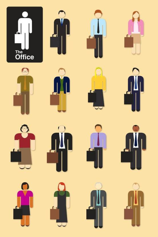 The Office - TV Show Poster Collection - Premium Quality Poster For