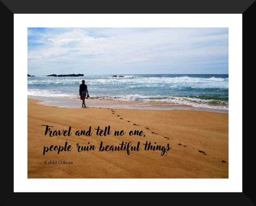 Wanderlust Poster Travel Inspirational Quote Travel And Tell No