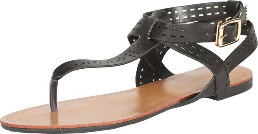 7a5527bf6a Van Heusen Women Black Flats - Buy Van Heusen Women Black Flats Online at  Best Price - Shop Online for Footwears in India