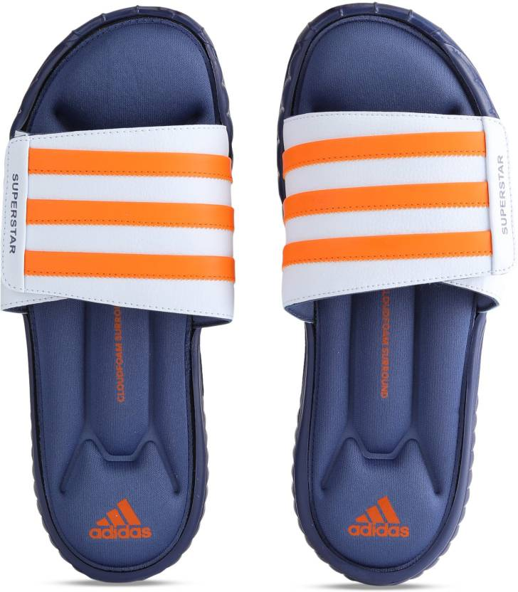 31c2e79c87c8 ADIDAS SUPERSTAR 3G SLIDE Slides - Buy NOBIND AERBLU ORANGE Color ADIDAS  SUPERSTAR 3G SLIDE Slides Online at Best Price - Shop Online for Footwears  in India ...