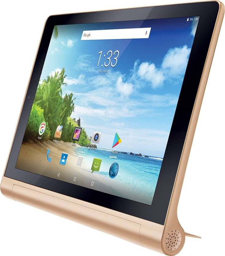 iBall Slide Brace XJ 32 GB 10.1 inch with Wi-Fi+4G Tablet (Bronze Gold)