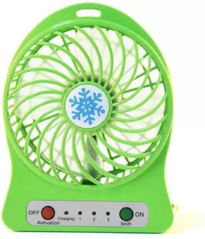 Wireless Rechargeable Mini Fan