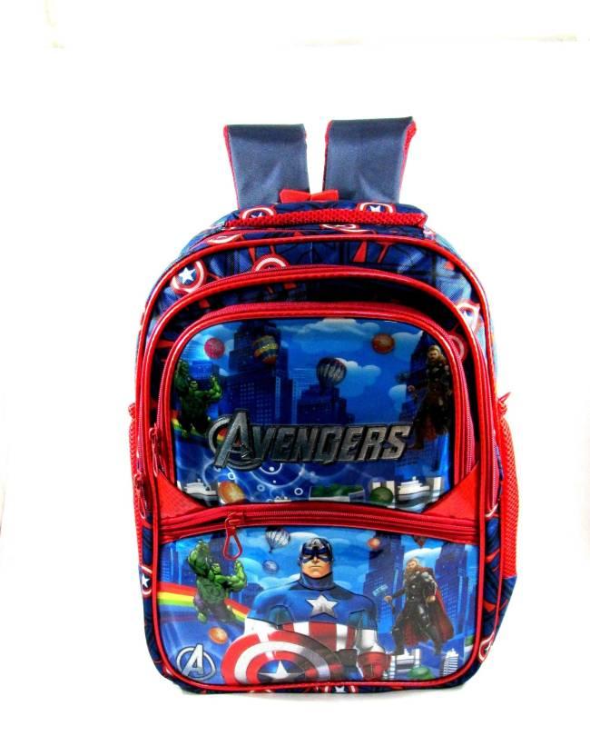 Ehuntz Hulk Captian America Avengers School Bag 9 To 17 Years