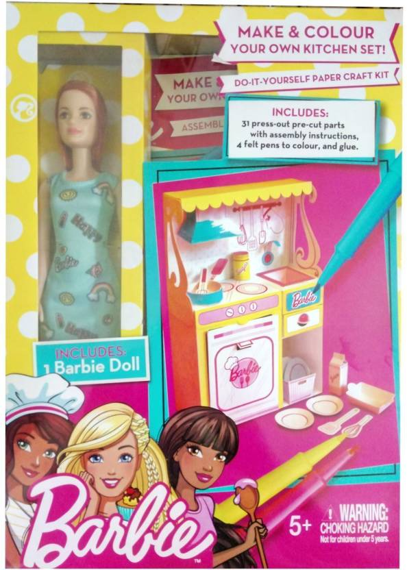 Barbie Kitchen Diy Kitchen Diy Buy Doll Toys In India Shop For