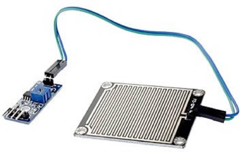 Robocraze Rain Sensitive Sensor Module, Rain Drop Detection Sensor Module /  Raindrops Humidity Sensor For Arduino