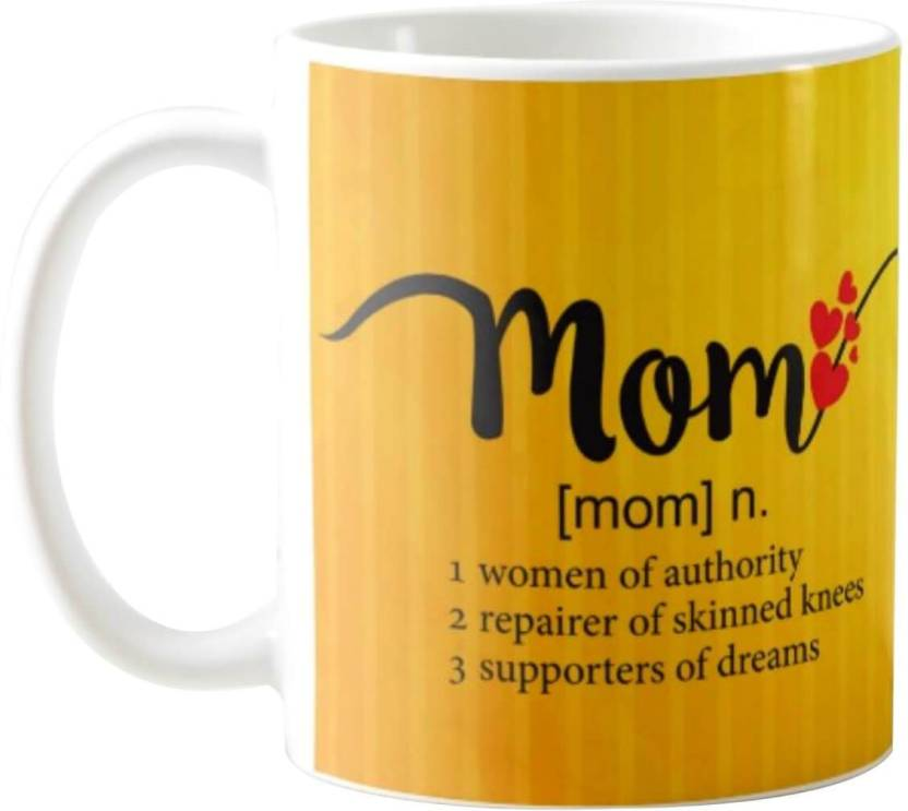 Giftsmate Gifts For Mom Meaning Birthday Mother Ceramic Mug 330 Ml