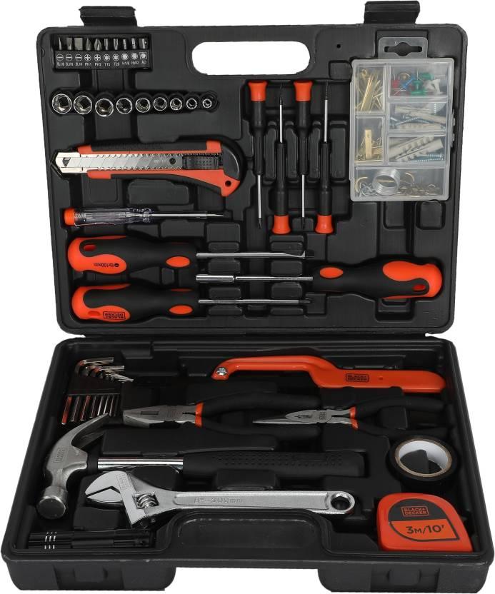 e1b5cf28e Black   Decker Hand Tool Kit Price in India - Buy Black   Decker ...
