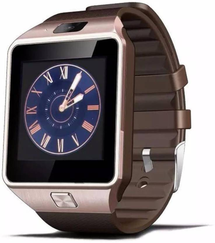 af918d019ed 4G Oppo   Mi compatible with all android Smartwatch (Brown Strap Regular)