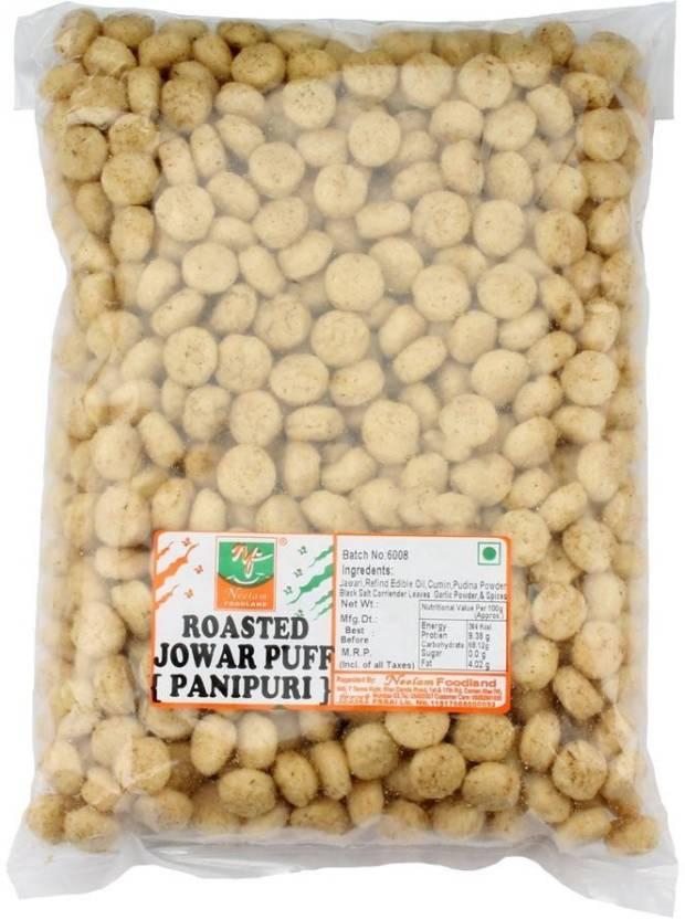 Neelam Foodland ROASTED JAWAR PUFF PANI PURI Price in India