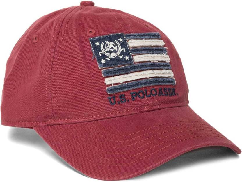 f84b0ace4 U.S. Polo Assn Solid Embroidered Cap - Buy U.S. Polo Assn Solid ...
