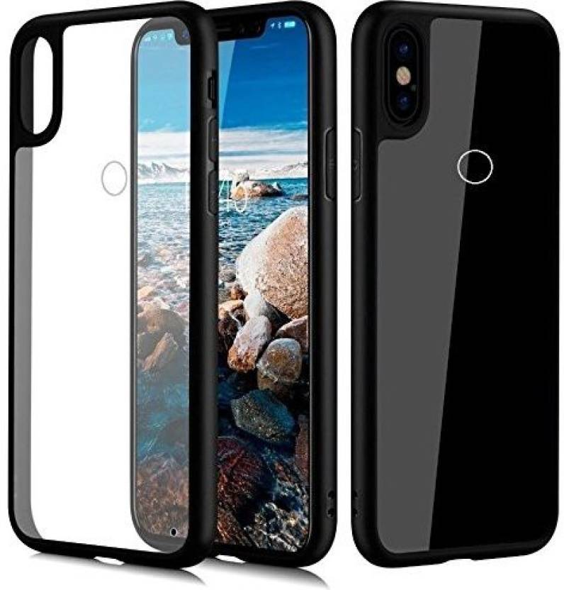 finest selection 77789 6700a Delight Seller Back Cover for Redmi note 5 Pro(Transparent Black ...