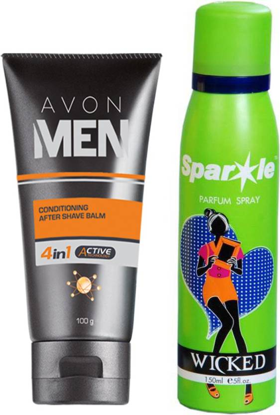 Avon Anew After Shave Balm For Men Aftershave Balm 100 G With One