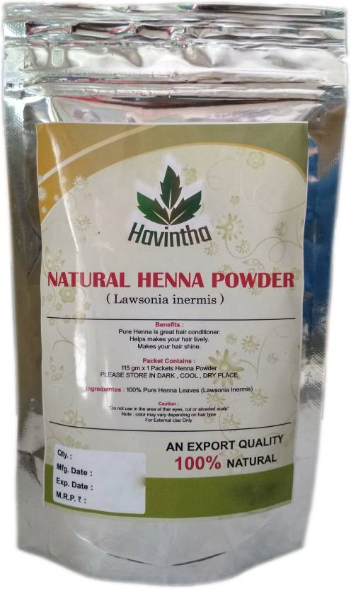 Havintha Natural Henna Powder For Hair Mehandi Powder Natural